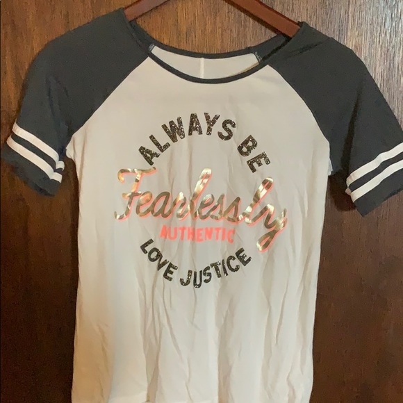 Girls Justice shirts new with tags